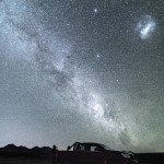 A Dark Night in the Atacama Desert in Chile