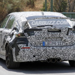 New 11th Gen Civic Type R test mule spied with updated exhaust