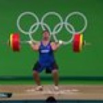 Weightlifter David Katoutau of the Republic of Kiribati failed the competition but danced his way out. This is how the Olympic Games should be, with a true spirit of sportsmanship