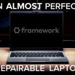 Framework laptop teardown by ifixit (10/10)