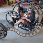 Steampunk vibes vehicle