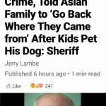 He doesn't deserve a dog