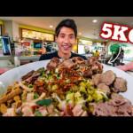 5KG MASSIVE BEEF OXTAIL NOODLE CHALLENGE!