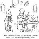 Happy Birthday to Leonardo Da Vinci who would be 569 today if he wasn't dead