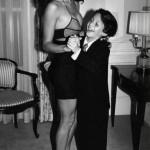 A young man enjoying his first dance 1987