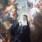 Saint Scholastica the patron saint of education