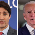 Trudeau says no deal on lifting border restrictions after talks with Biden