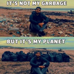 It's not my garbage