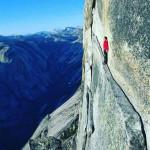 The Thank God Ledge at Yosemite national park breathtaking scene 😮