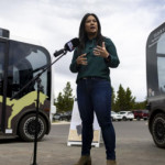 Yellowstone unveils electric, automated shuttles for summer testing