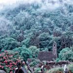 Foggy Morning at Glendalough Monastic Site, Ireland