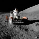 Nice ride (Apollo 17)