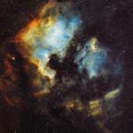 North American Nebula from Toronto, Canada