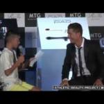 Cristiano Ronaldo defends Japanese boy trying to speak Portuguese 🐩