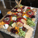 When Your Charcuterie Board is the Kitchen Island