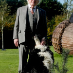 The President of Ireland and Brod his dog