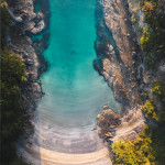 Perfect getaway a secret beach, New Zealand 🏝️