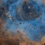 Rosette Nebula, 20.5 hours exposure