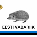 The Flag of California in Estonian Style