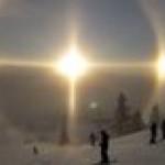 Solar Parhelion in Sweden
