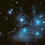 Messier 45 Pleiades or The Seven Sisters