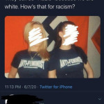 How's that racism?