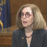 """Oregon governor signs ambitious clean energy bill. According to the governor's office it sets an """"aggressive timeline"""" for moving to 100% clean electricity sources by 2040"""