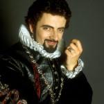 Rowan Atkinson, promotional photo for series two of Blackadder - 1986