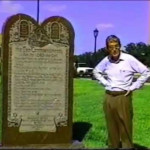 Ten Commandments On The Grounds Of Texas State Capitol