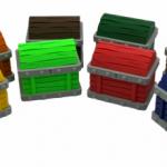 3D printed treasure Chests