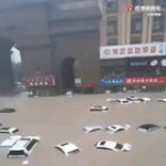 Yesterday... Zhengzhou, China had faced 200mm of rain in an hour!