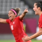 Canada beats USA to advance to Gold medal match - Women's soccer