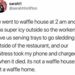 Come and visit the waffle home