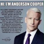 CIA & the Media (Operation Mockingbird) anderson cooper of cnn