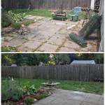 Finally got around to working on the backyard