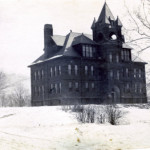 Fishkill Landing NY high school from 1904. Serious Addams Family vibes