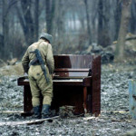 Soldier the summoner . In Soviet Russia piano comes to you