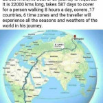 Guide to the longest walkable route on Earth