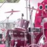 Children's concert drummer uses his costume to restrain his true powers