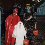 Halloween in the late 80s