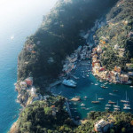 Italian town of portofino