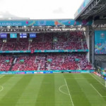 """BEAUTIFUL.The Finnish crowd cheering """"Christian"""" and the Danish crowd replying with """"Eriksen"""". MORE THAN JUST A GAME"""