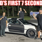 World's First Toyota MR2 7-Second Quarter Mile Pass