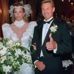 Wayne Gretzky and Janet Jones wedding