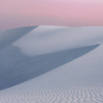 White Sands New Mexico at dusk