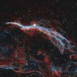 The Western Veil Nebula