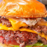 Working on my smash burger game