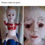 Creepy Campbell's boy 😨