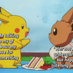 Having someone to talk with