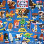 The ice cream truck menu